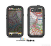 The Abstract Woven Color Pattern Skin For The Samsung Galaxy S3 LifeProof Case