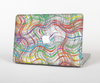 The Abstract Woven Color Pattern Skin Set for the Apple MacBook Air 11""