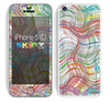 The Abstract Woven Color Pattern Skin for the Apple iPhone 5c