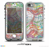 The Abstract Woven Color Pattern Skin for the iPhone 5-5s NUUD LifeProof Case for the LifeProof Skin