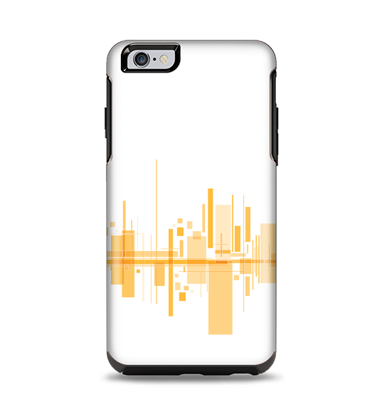 The Abstract Yellow Skyline View Apple iPhone 6 Plus Otterbox Symmetry Case Skin Set