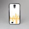 The Abstract Yellow Skyline View Skin-Sert Case for the Samsung Galaxy S4