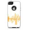 The Abstract Yellow Skyline View Skin For The iPhone 5-5s Otterbox Commuter Case