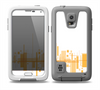 The Abstract Yellow Skyline View Skin for the Samsung Galaxy S5 frē LifeProof Case