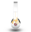 The Abstract Yellow Skyline View Skin for the Beats by Dre Original Solo-Solo HD Headphones