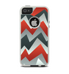 The Abstract ZigZag Pattern v4 Apple iPhone 5-5s Otterbox Commuter Case Skin Set