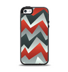 The Abstract ZigZag Pattern v4 Apple iPhone 5-5s Otterbox Symmetry Case Skin Set