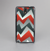 The Abstract ZigZag Pattern v4 Skin-Sert Case for the Samsung Galaxy Note 3