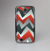 The Abstract ZigZag Pattern v4 Skin-Sert Case for the Samsung Galaxy S4