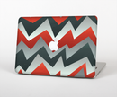 The Abstract ZigZag Pattern v4 Skin Set for the Apple MacBook Air 11""