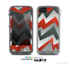 The Abstract ZigZag Pattern v4 Skin for the Apple iPhone 5c LifeProof Case