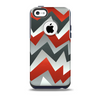 The Abstract ZigZag Pattern v4 Skin for the iPhone 5c OtterBox Commuter Case