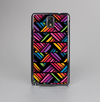 The Abstract Zig Zag Color Pattern Skin-Sert Case for the Samsung Galaxy Note 3