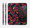 The Abstract Zig Zag Color Pattern Skin for the Apple iPhone 6