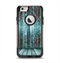 The Aged Blue Victorian Striped Wall Apple iPhone 6 Otterbox Commuter Case Skin Set