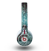 The Aged Blue Victorian Striped Wall Skin for the Beats by Dre Mixr Headphones