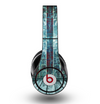 The Aged Blue Victorian Striped Wall Skin for the Original Beats by Dre Studio Headphones