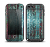The Aged Blue Victorian Striped Wall Skin for the iPod Touch 5th Generation frē LifeProof Case