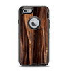 The Aged RedWood Texture Apple iPhone 6 Otterbox Defender Case Skin Set