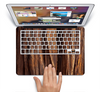 The Aged RedWood Texture Skin Set for the Apple MacBook Air 11""