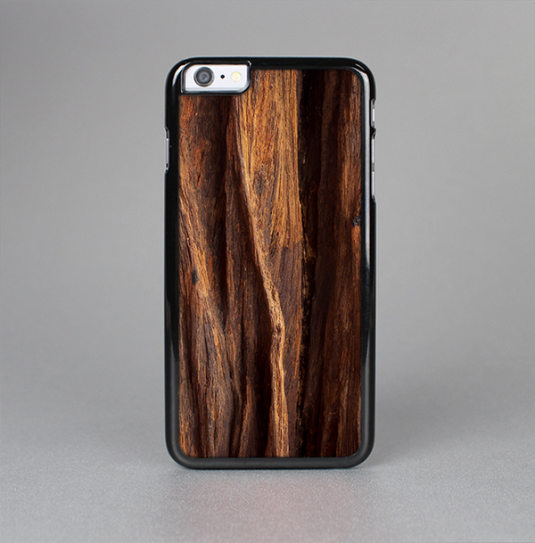 The Aged RedWood Texture Skin-Sert Case for the Apple iPhone 6 Plus