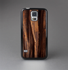 The Aged RedWood Texture Skin-Sert Case for the Samsung Galaxy S5