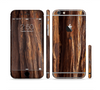 The Aged RedWood Texture Sectioned Skin Series for the Apple iPhone 6