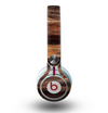 The Aged RedWood Texture Skin for the Beats by Dre Mixr Headphones