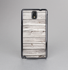 The Aged White Wood Planks Skin-Sert Case for the Samsung Galaxy Note 3