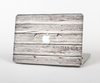 The Aged White Wood Planks Skin Set for the Apple MacBook Air 11""