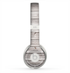 The Aged White Wood Planks Skin for the Beats by Dre Solo 2 Headphones
