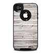 The Aged White Wood Planks Skin for the iPhone 4-4s OtterBox Commuter Case