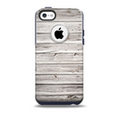 The Aged White Wood Planks Skin for the iPhone 5c OtterBox Commuter Case
