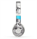 The Aged White Wood With Anchor Skin for the Beats by Dre Solo 2 Headphones