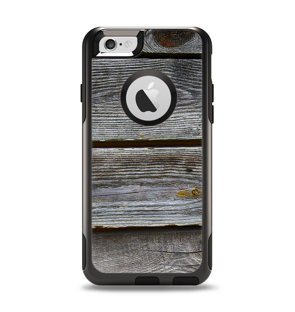 The Aged Wood Planks Apple iPhone 6 Otterbox Commuter Case Skin Set
