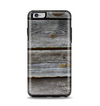 The Aged Wood Planks Apple iPhone 6 Plus Otterbox Symmetry Case Skin Set