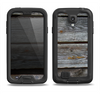 The Aged Wood Planks Samsung Galaxy S4 LifeProof Fre Case Skin Set