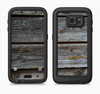 The Aged Wood Planks Full Body Samsung Galaxy S6 LifeProof Fre Case Skin Kit