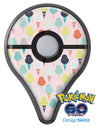 The All Over Pink Ice Cream Cone Pattern Pokémon GO Plus Vinyl Protective Decal Skin Kit