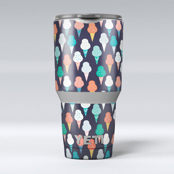 The_All_Over_Teal_and_Green_Ice_Cream_Cones_-_Yeti_Rambler_Skin_Kit_-_30oz_-_V1.jpg