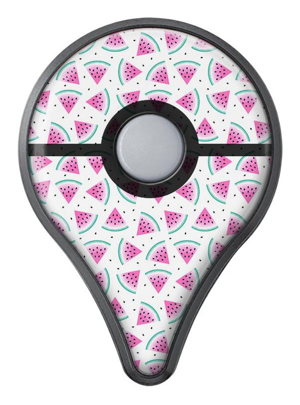 The All Over Watermelon Slice Pattern Pokémon GO Plus Vinyl Protective Decal Skin Kit
