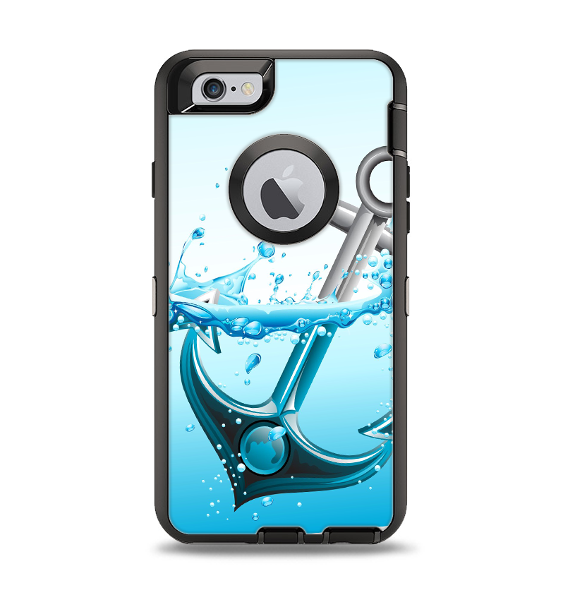 size 40 64efd 27ddb The Anchor Splashing Apple iPhone 6 Otterbox Defender Case Skin Set