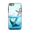 The Anchor Splashing Apple iPhone 6 Plus Otterbox Symmetry Case Skin Set
