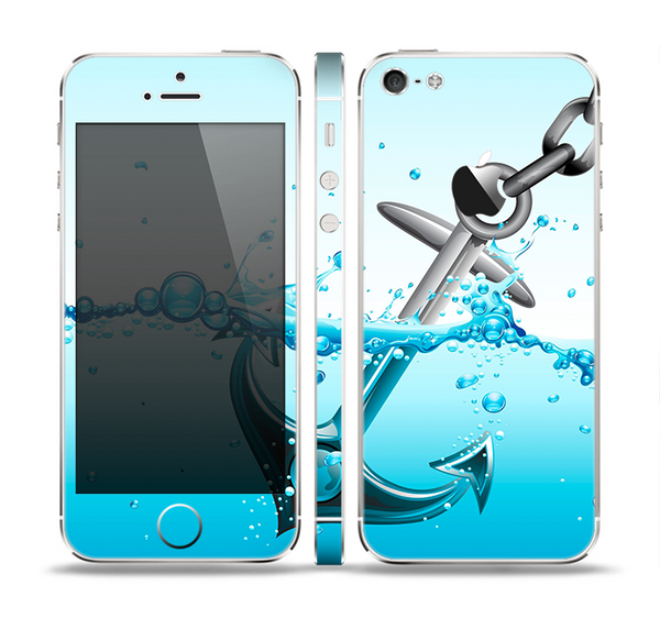 The Anchor Splashing Skin Set for the Apple iPhone 5