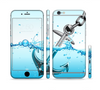 The Anchor Splashing Sectioned Skin Series for the Apple iPhone 6