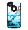 The Anchor Splashing Skin for the iPhone 4-4s OtterBox Commuter Case