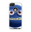The Angry Blue Fury Monster Apple iPhone 5-5s Otterbox Commuter Case Skin Set