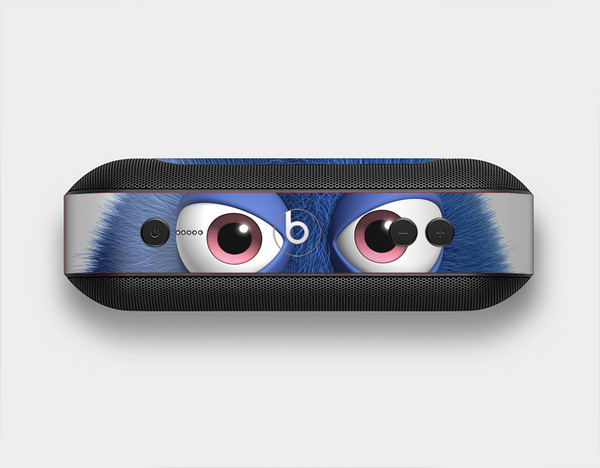 The Angry Blue Fury Monster Skin Set for the Beats Pill Plus
