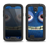 The Angry Blue Fury Monster Samsung Galaxy S4 LifeProof Nuud Case Skin Set