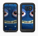 The Angry Blue Fury Monster Full Body Samsung Galaxy S6 LifeProof Fre Case Skin Kit